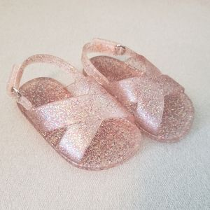 Old Navy Sparkly Jelly Sandals